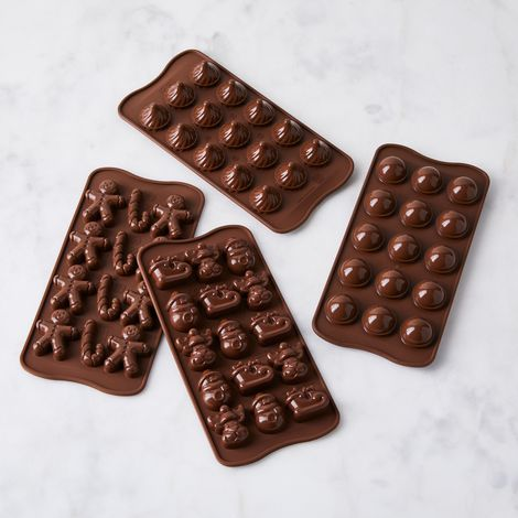 Italian Silicone Chocolate Mold (2-Pack)