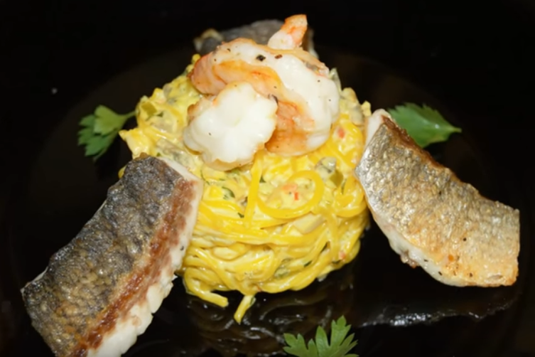 Fish Spaghetti