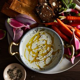 "Marc Forgione's Salt Cod ""Tonnato"" with Crudité"