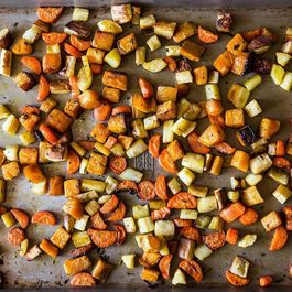 Crisp and Tender Roasted Root Vegetables