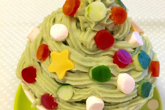 Matcha Potato Salad Tree