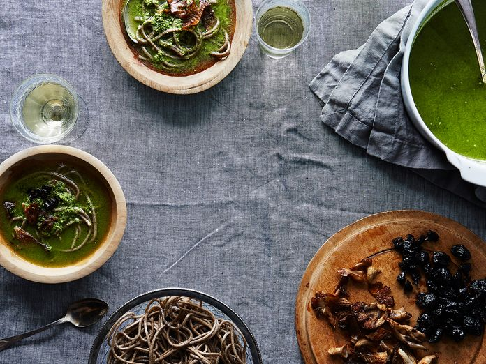 Just Add Water: 15 Minutes to Heidi Swanson's Genius Green Soup