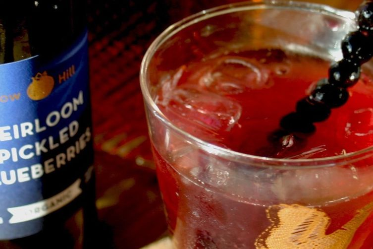 Blueberry Zinger Cocktail