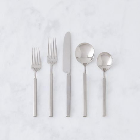 Stainless Steel Jaxson Flatware (5-Piece Place Setting)