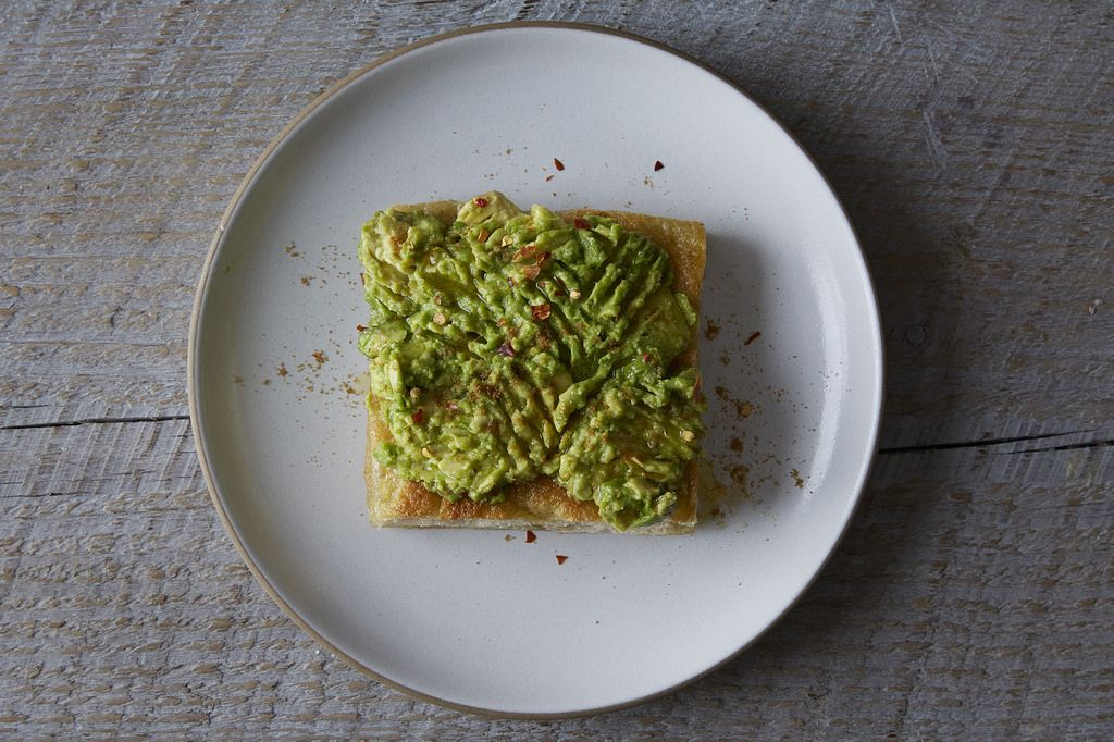 Avocado Toast on Focaccia