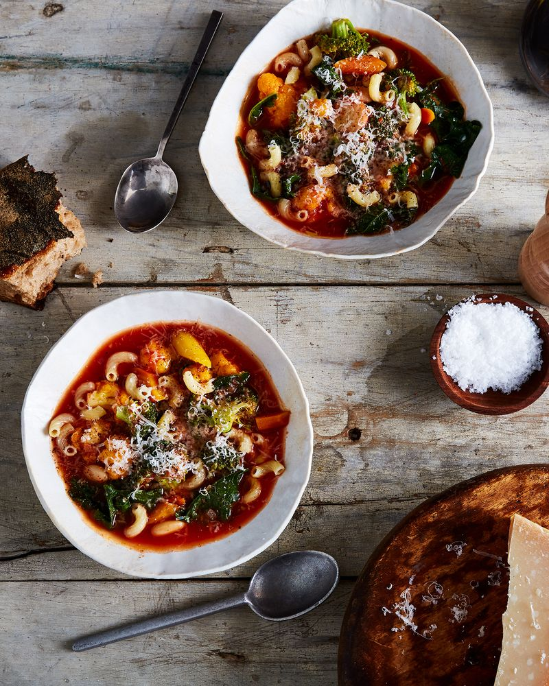 Desperate times call for... big bowls of hearty, belly-warming soup.