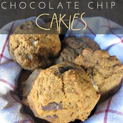 Gingerbread Chocolate Chip Cakies