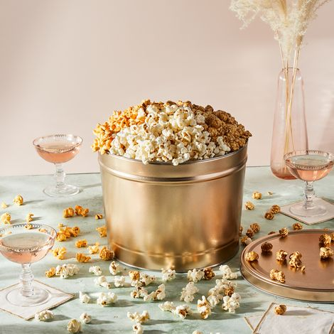 Food52 x Poppy Classic Holiday Popcorn Tin