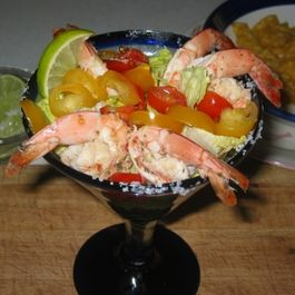 Grilled Shrimp Cocktail...Margarita Style!