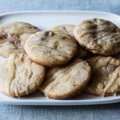 Figgy Pudding Butter Cookies