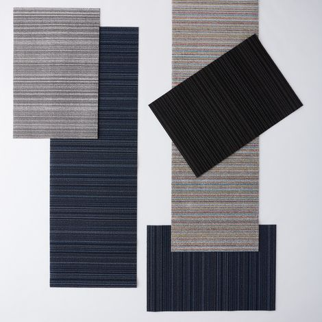 Striped Shag Indoor & Outdoor Mat
