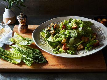 A Caesar Salad for Dairy-Free Friends, Egg Avoiders & Curious Folk