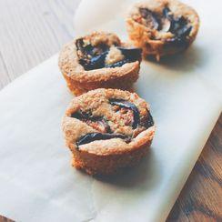 Fig and Hazelnut Muffins