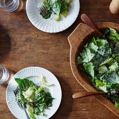 A Genius Caesar Salad from a Genius Dad
