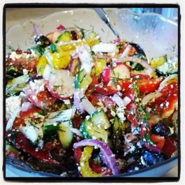 Socky's Greek Salad