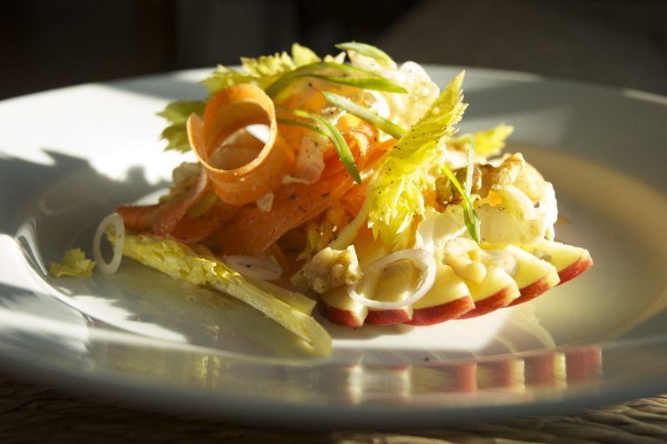 Apple Salad for Sunday Dinners