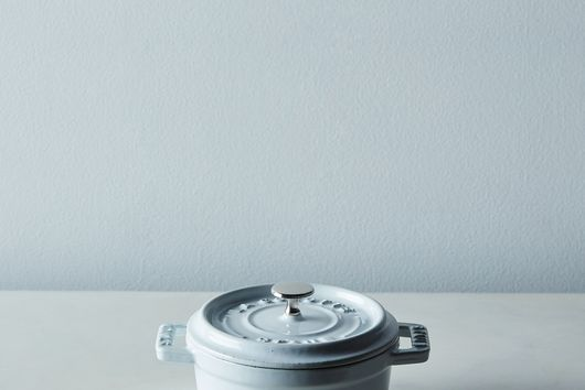 Staub Mini Round Cocotte, White, 0.25QT