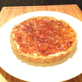 B1202233 6024 4e53 8515 381ed36651bf  coconut custard and pear tart
