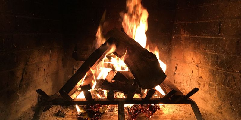 Staying toasty this season is as easy as breathing life into your fireplace