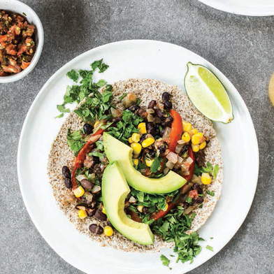 Black Bean Rancheros