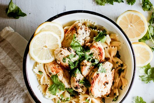 Lemon and herbs chicken