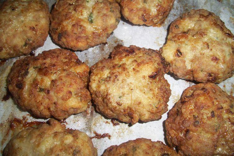 Faširani šnicli ( Ground meat schnitzel )