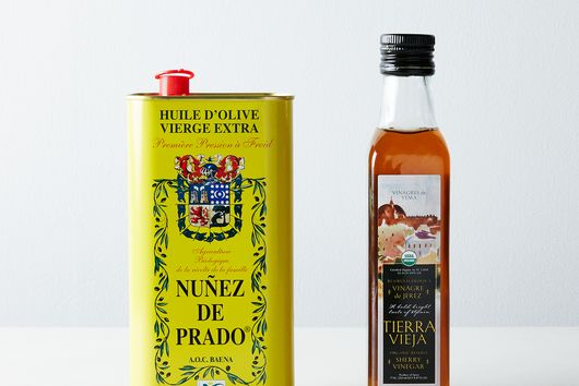 Organic Spanish Olive Oil & Sherry Vinegar Set