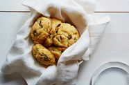 Cornmeal-Cherry Scones