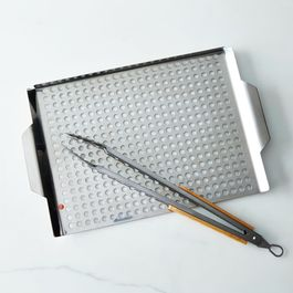 Steel Grille & Tongs