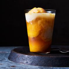 "Mango Sorbetto ""Colada"" Float"