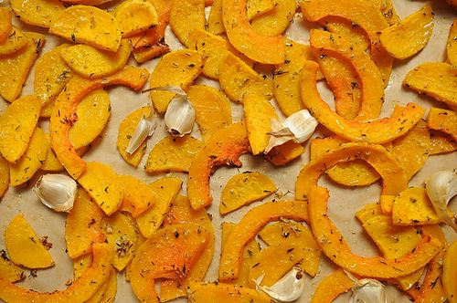 Butternut Squash and Roasted Garlic Galette Recipe on Food52