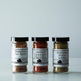 Pumpkin Spice Set: Pumpkin Pie Spice, Mexican Adobo and Smoked Paprika
