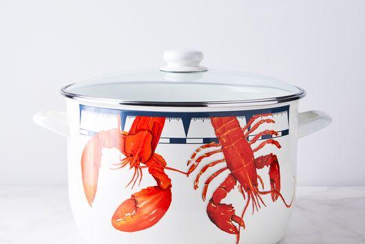 Enameled Lobster & Stock Pot, 18QT