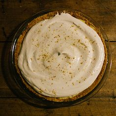 Dark & Stormy Pie