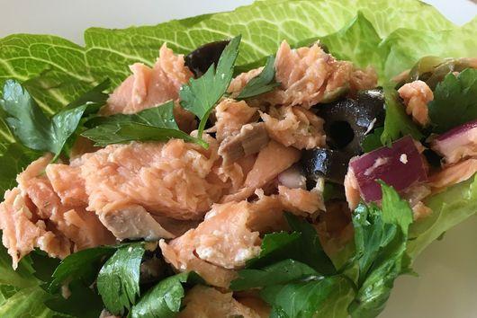 Italian Summer Salmon Salad