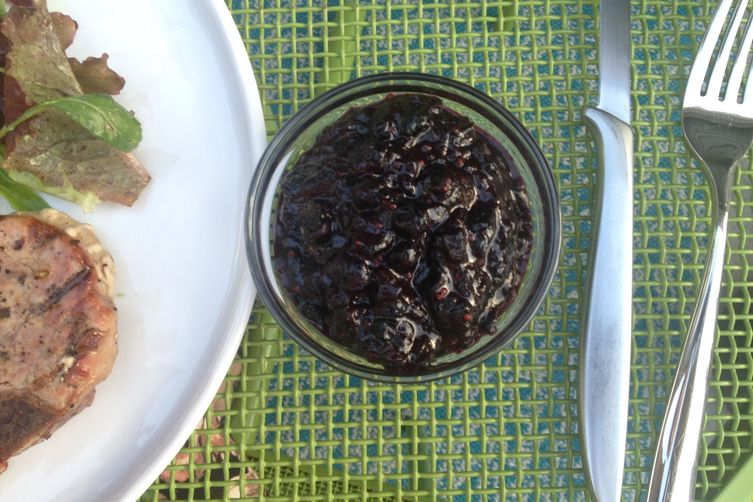 Blueberry Mostarda