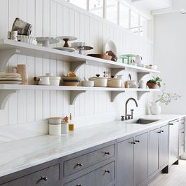 Kitchen Shelving by Gretchen Goehrend
