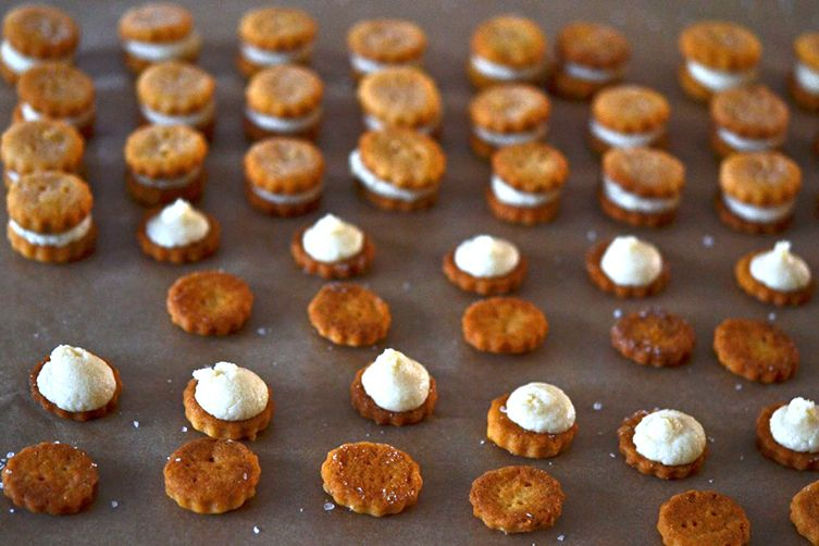 Gluten-Free Ritz Bits-Style Crackers