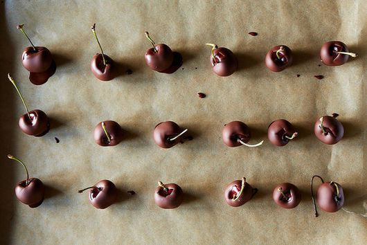 Crazy-Good No-Temper Chocolate-Dipped Cherries (+ Other Things)