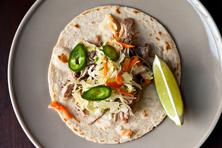 Citrus Pulled Pork Tacos Recipe on Food52