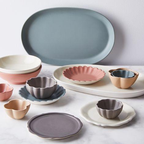 Handmade French Petal Bowls