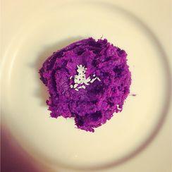 Purple Sweet Potato Smash