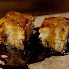 Guinness Lacquered Pork Belly
