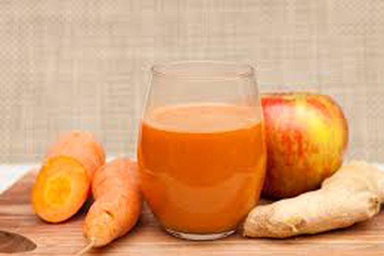 Carrot Ginger Smoothie for Weight Loss