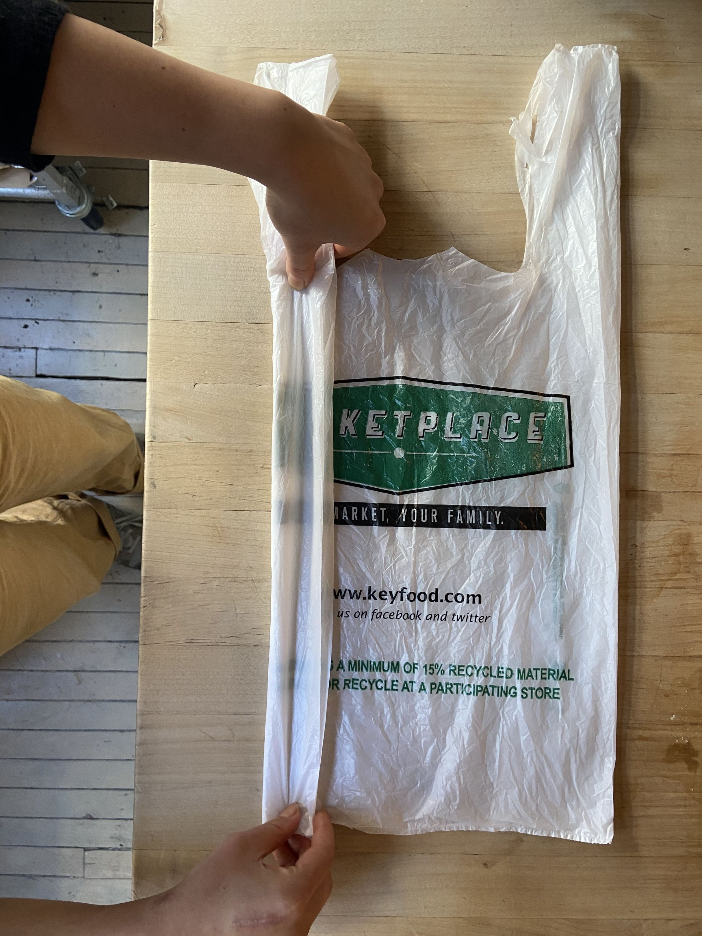 A Neat Folding Trick for Storing Plastic Grocery Bags—So You Can Actually Reuse Them