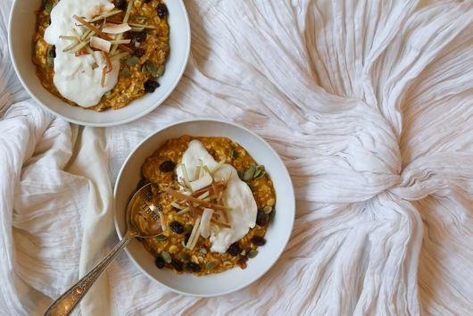 Coconut Pumpkin Pie Porridge