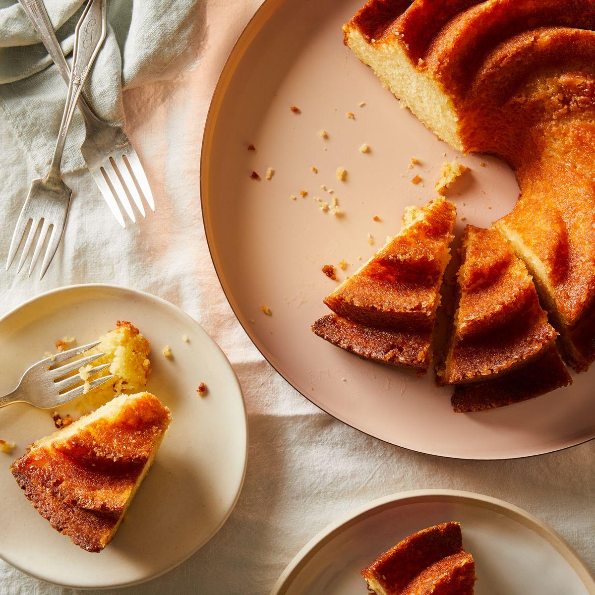 Maida Heatter's Lemon Buttermilk Cake