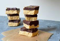 No-Bake Chocolate Shortbread