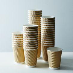 Kraft Ripple Cups
