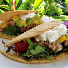 Hanalei grilled fish tacos